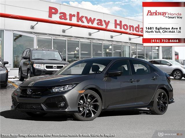 2019 Honda Civic Sport (Stk: 929325) in North York - Image 1 of 22