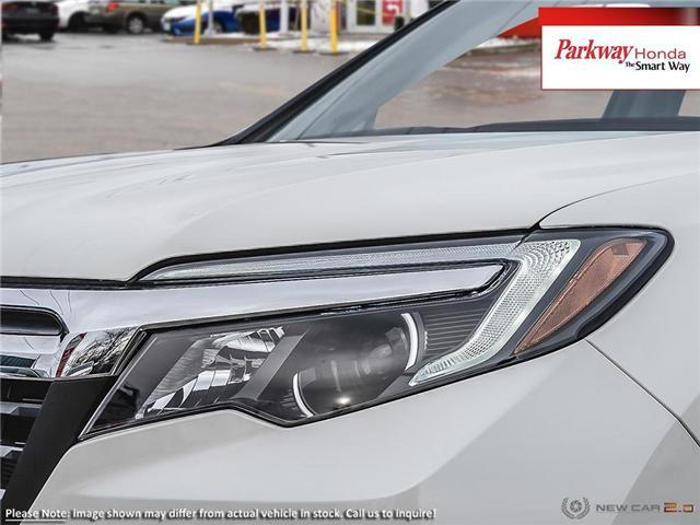 2019 Honda Ridgeline EX-L (Stk: 926010) in North York - Image 10 of 22