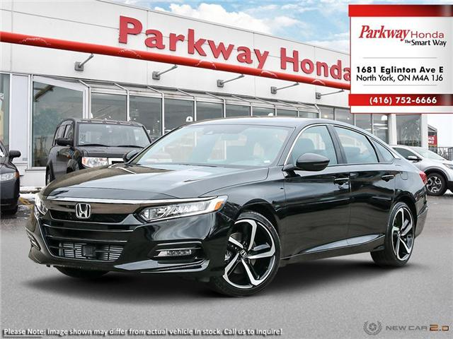 2019 Honda Accord Sport 2.0T (Stk: 928049) in North York - Image 1 of 23