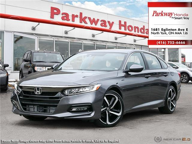 2019 Honda Accord Sport 2.0T (Stk: 928057) in North York - Image 1 of 23