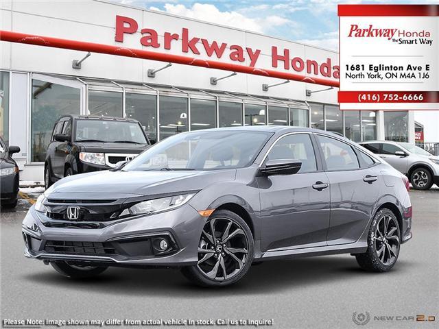 2019 Honda Civic Sport (Stk: 929280) in North York - Image 1 of 23