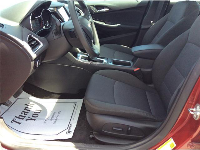 2018 Chevrolet Cruze LT Auto (Stk: 182108) in Richmond - Image 8 of 17