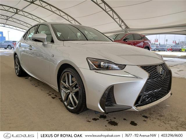 2019 Lexus IS 300 Base (Stk: L19362) in Calgary - Image 1 of 5