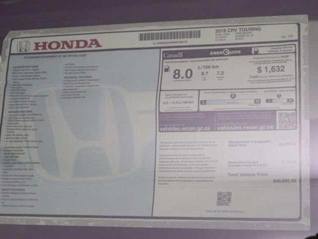 2019 Honda CR-V Touring (Stk: 219379) in Huntsville - Image 38 of 38