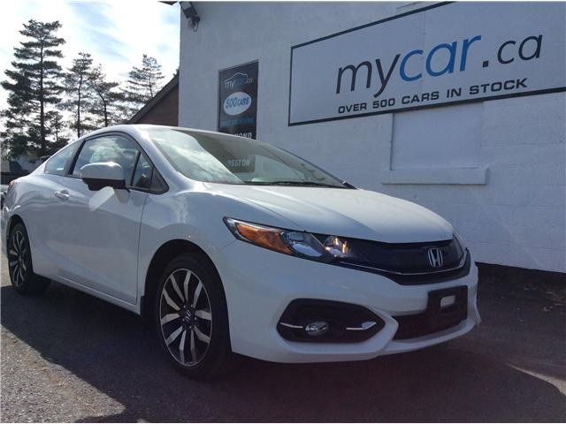 2014 Honda Civic EX-L Navi (Stk: 181865) in Richmond - Image 1 of 19