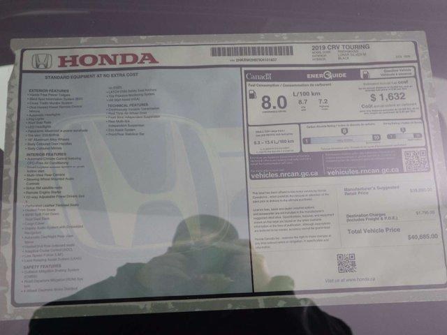 2019 Honda CR-V Touring (Stk: 219398) in Huntsville - Image 34 of 34