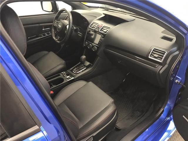 2018 Subaru WRX Sport-tech (Stk: 186550) in Lethbridge - Image 21 of 28