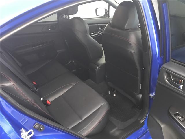 2018 Subaru WRX Sport-tech (Stk: 186550) in Lethbridge - Image 22 of 28