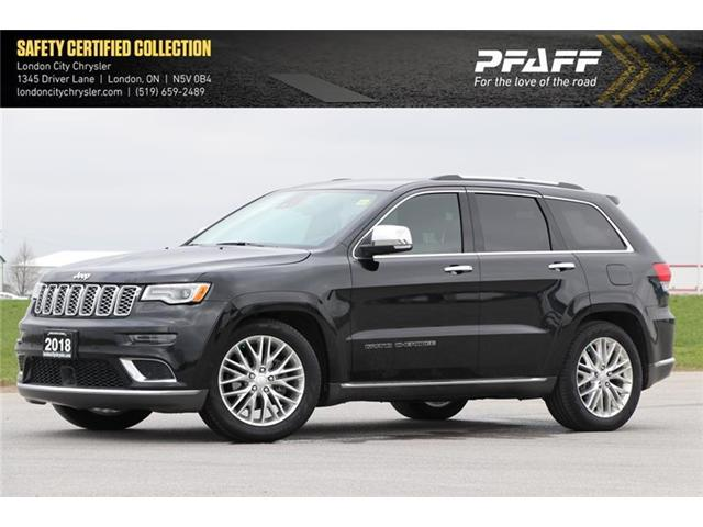 2018 Jeep Grand Cherokee Summit (Stk: LU8615) in London - Image 1 of 21