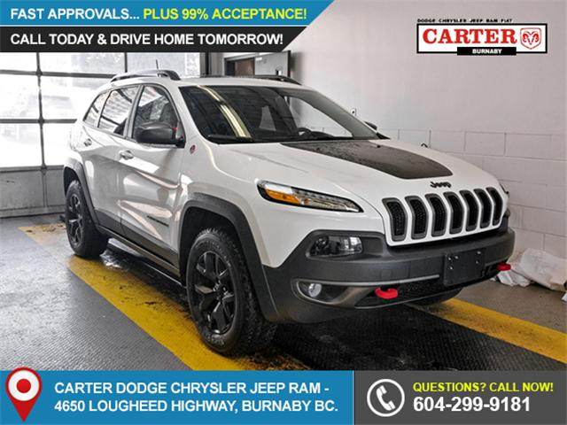 2018 Jeep Cherokee Trailhawk (Stk: 9-6042-1) in Burnaby - Image 1 of 22