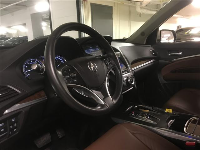 2017 Acura MDX Navigation Package (Stk: M12607A) in Toronto - Image 12 of 23
