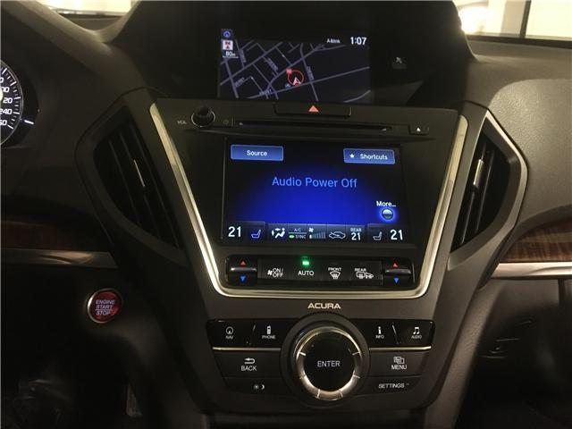 2017 Acura MDX Navigation Package (Stk: M12607A) in Toronto - Image 17 of 23