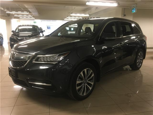 2016 Acura MDX Navigation Package (Stk: M12628A) in Toronto - Image 1 of 25