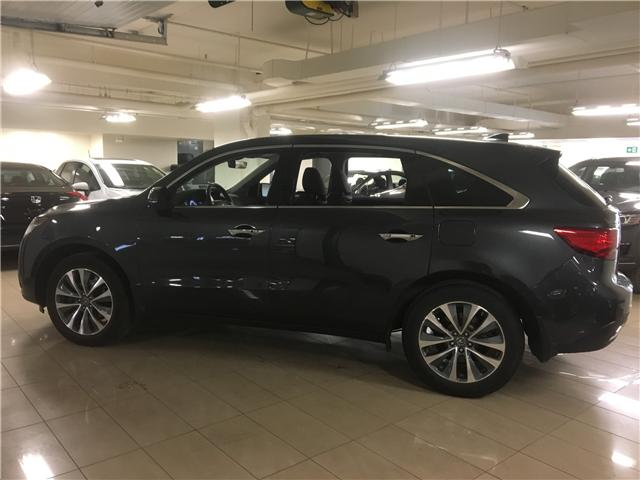 2016 Acura MDX Navigation Package (Stk: M12628A) in Toronto - Image 2 of 25