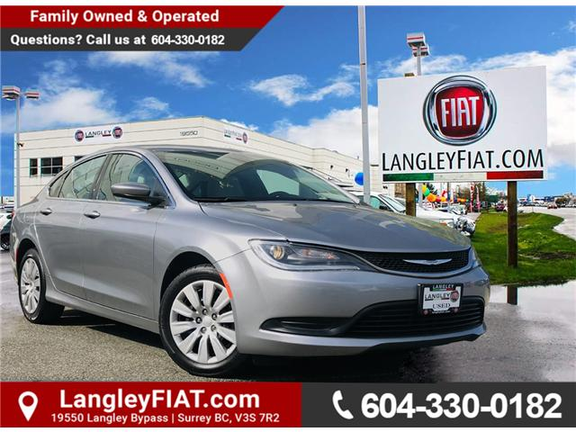 2016 Chrysler 200 LX (Stk: LF010050) in Surrey - Image 1 of 30