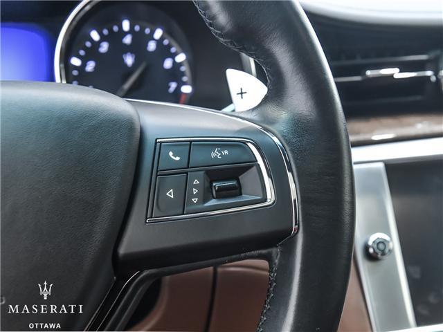 2014 Maserati Quattroporte GTS (Stk: 3052A) in Gatineau - Image 19 of 20