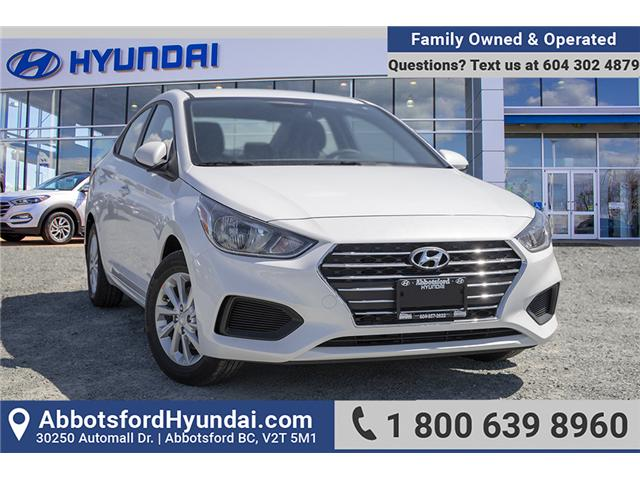 2019 Hyundai Accent Preferred (Stk: KA081265) in Abbotsford - Image 1 of 26