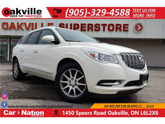 2013 Buick Enclave LEATHER | PANO SUNROOF | BLIND SPOT | B/U CAM (Stk: P12070) in Oakville - Image 1 of 24