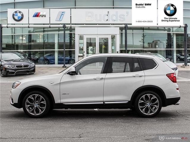 2017 BMW X3 xDrive28i (Stk: T698988A) in Oakville - Image 2 of 25