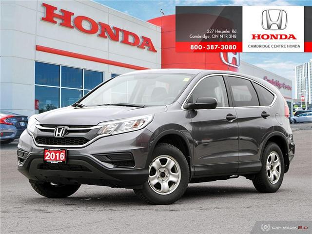 2016 Honda CR-V LX (Stk: 19265A) in Cambridge - Image 1 of 27