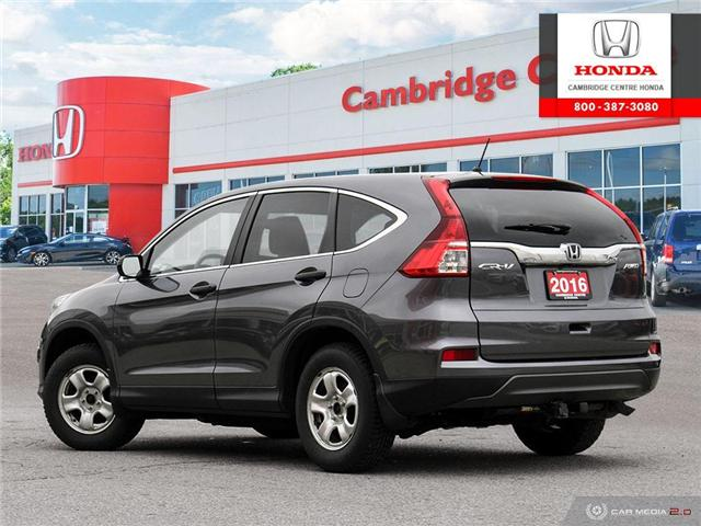 2016 Honda CR-V LX (Stk: 19265A) in Cambridge - Image 4 of 27
