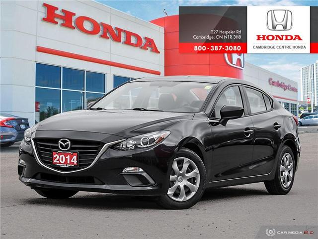 2014 Mazda Mazda3 GX-SKY (Stk: 19507A) in Cambridge - Image 1 of 27