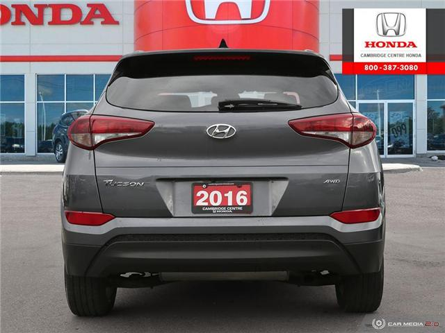 2016 Hyundai Tucson Luxury (Stk: 19637A) in Cambridge - Image 5 of 27
