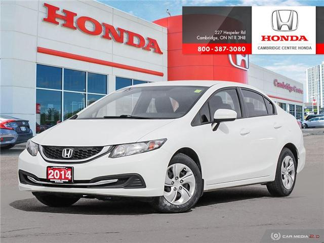2014 Honda Civic LX (Stk: 19428B) in Cambridge - Image 1 of 27