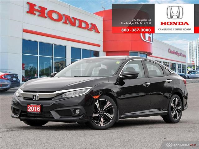 2016 Honda Civic Touring (Stk: 19692A) in Cambridge - Image 1 of 27