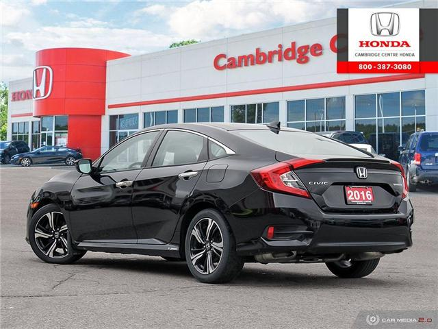 2016 Honda Civic Touring (Stk: 19692A) in Cambridge - Image 4 of 27
