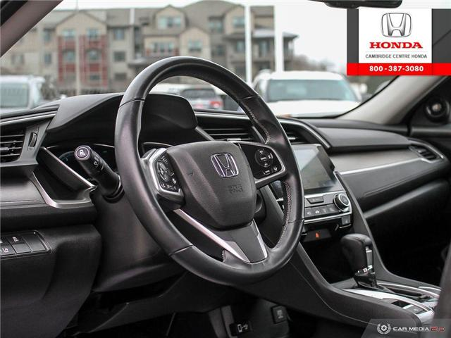 2016 Honda Civic Touring (Stk: 19692A) in Cambridge - Image 13 of 27