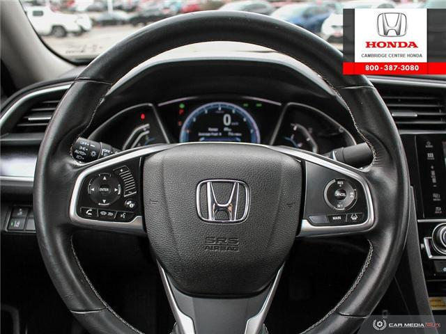 2016 Honda Civic Touring (Stk: 19692A) in Cambridge - Image 14 of 27