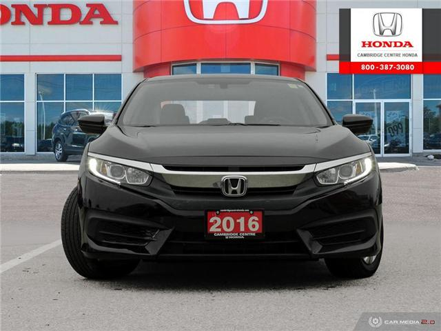 2016 Honda Civic LX (Stk: 19266A) in Cambridge - Image 2 of 27