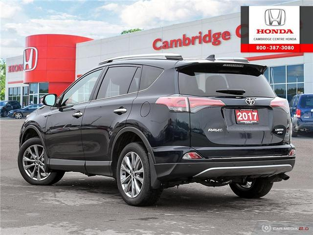 2017 Toyota RAV4 Limited (Stk: 19720A) in Cambridge - Image 4 of 27
