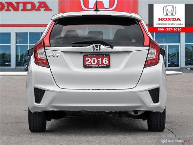 2016 Honda Fit EX-L Navi (Stk: U4946) in Cambridge - Image 5 of 27