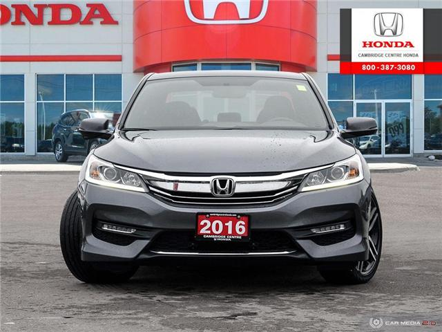 2016 Honda Accord Sport (Stk: 19673A) in Cambridge - Image 2 of 27