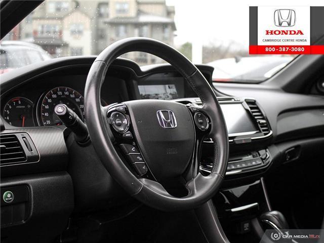 2016 Honda Accord Sport (Stk: 19673A) in Cambridge - Image 13 of 27