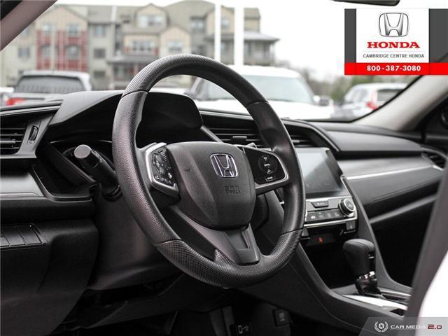 2016 Honda Civic LX (Stk: 19292A) in Cambridge - Image 13 of 27