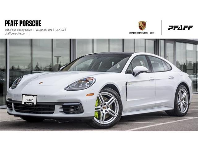 2019 Porsche Panamera 4 e-Hybrid (Stk: P14196) in Vaughan - Image 1 of 22