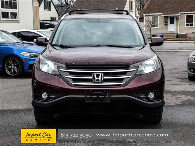 2013 Honda CR-V Touring (Stk: 114390) in Ottawa - Image 2 of 30