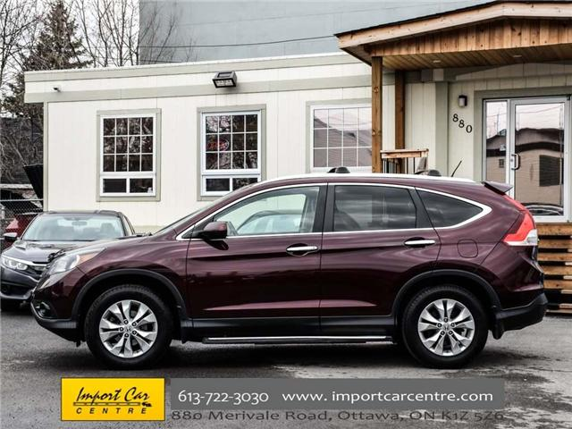 2013 Honda CR-V Touring (Stk: 114390) in Ottawa - Image 4 of 30