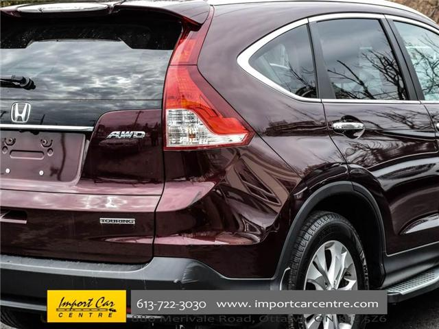 2013 Honda CR-V Touring (Stk: 114390) in Ottawa - Image 8 of 30