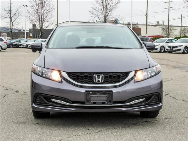 2015 Honda Civic EX (Stk: 3297) in Milton - Image 2 of 19