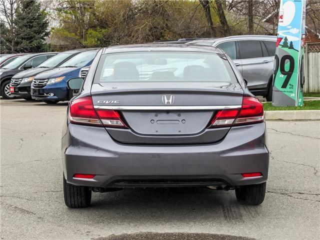 2015 Honda Civic EX (Stk: 3297) in Milton - Image 6 of 19