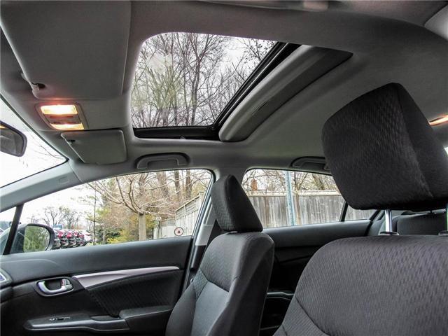 2015 Honda Civic EX (Stk: 3297) in Milton - Image 17 of 19
