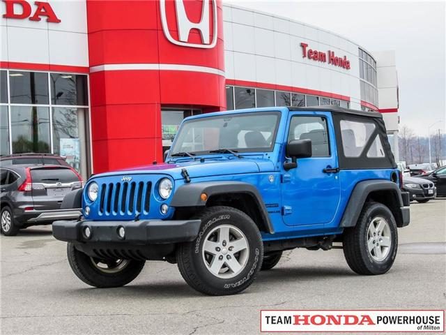 2015 Jeep Wrangler Sport (Stk: 19477A) in Milton - Image 1 of 16