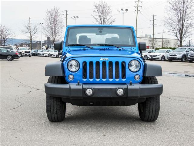 2015 Jeep Wrangler Sport (Stk: 19477A) in Milton - Image 2 of 16
