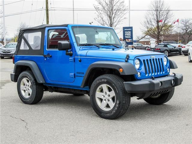 2015 Jeep Wrangler Sport (Stk: 19477A) in Milton - Image 3 of 16
