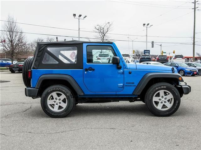 2015 Jeep Wrangler Sport (Stk: 19477A) in Milton - Image 4 of 16