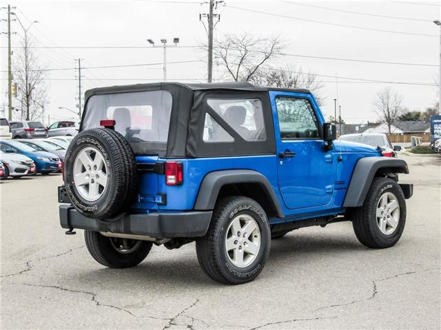 2015 Jeep Wrangler Sport (Stk: 19477A) in Milton - Image 5 of 16